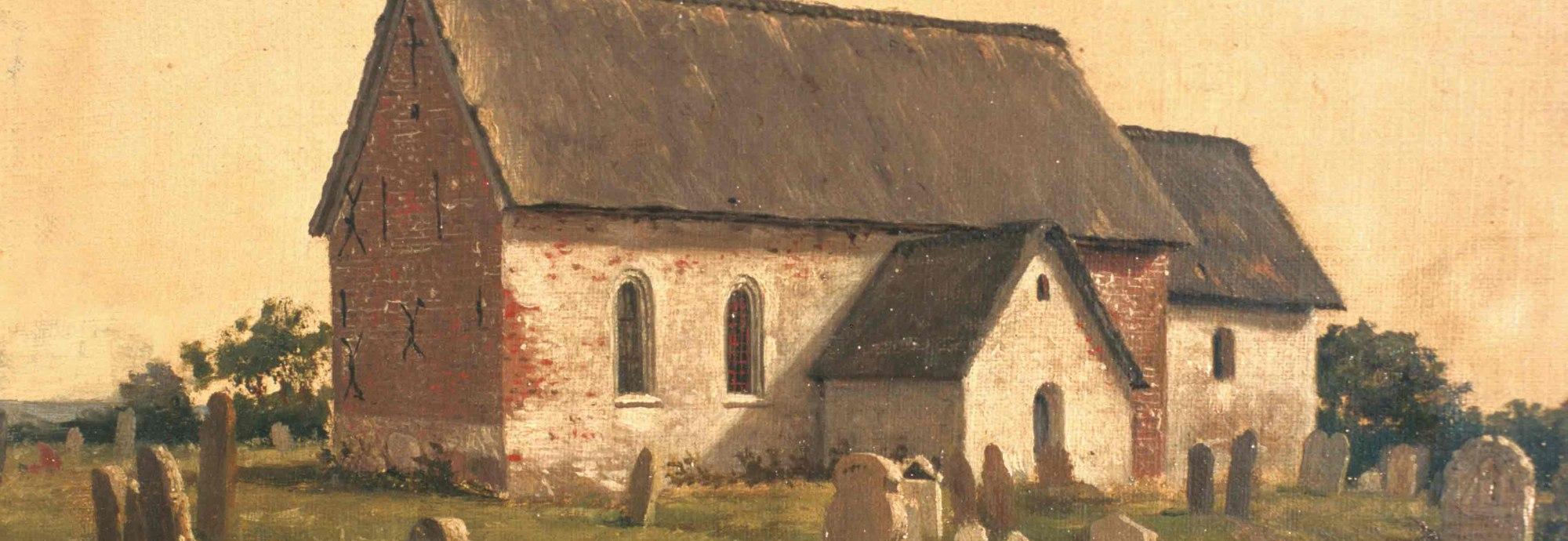 St. Clemens-Kirche Gemälde C. Jessen