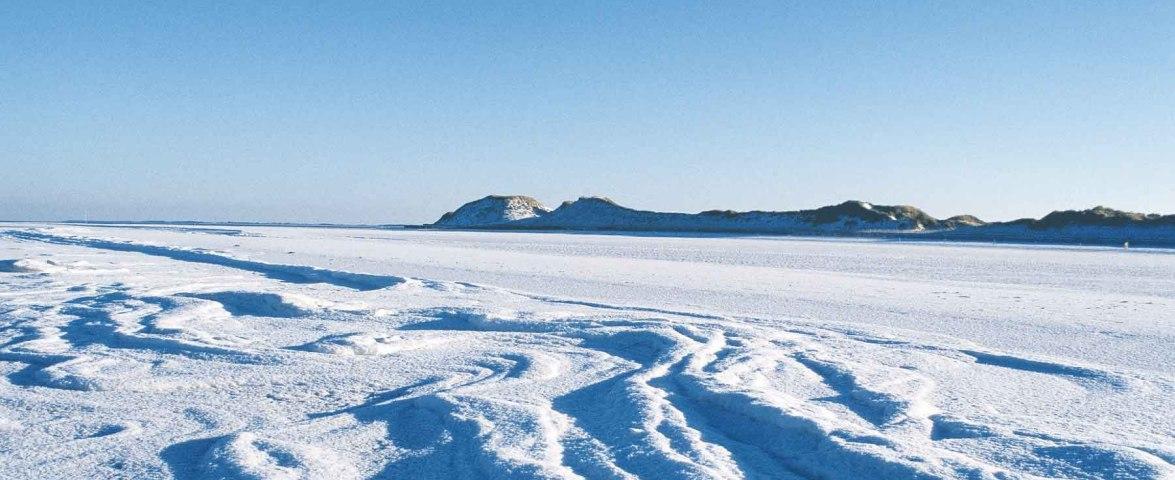 Eiszeit auf Amrum Odde, © KQuedens