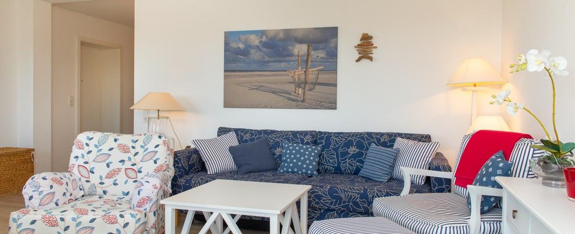 Penthouse Weitsicht in der Strandresidenz - Wohnzimmer