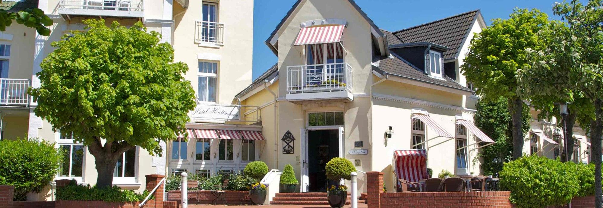 Hoteleingang_Hüttmann, © Hotel Hüttmann