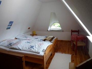 Schlafzimmer in der 1. Etage
