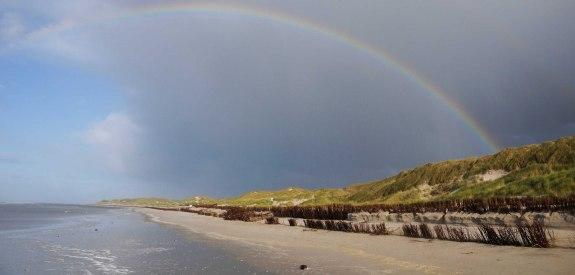 Regenbogen über Amrum, © Kai Quedens