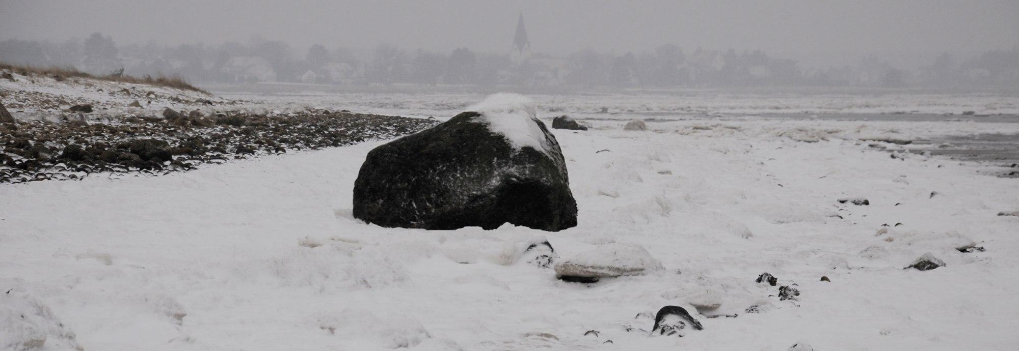 Eiszeit auf Amrum, © KQuedens