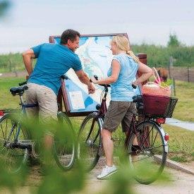 Radfahrer auf Amrum, © Oliver Franke