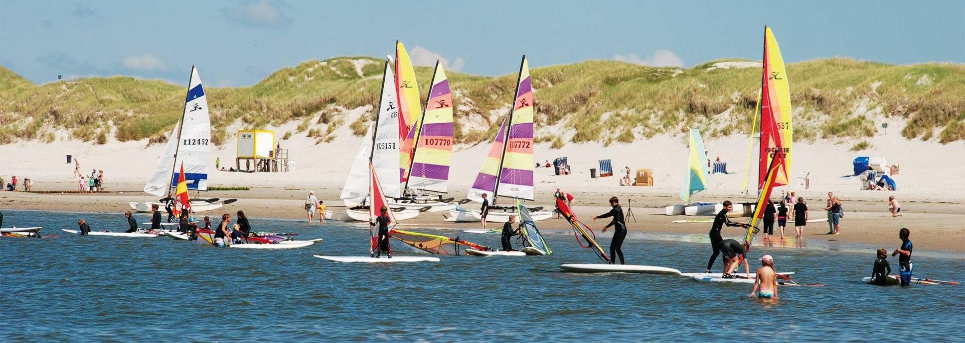 Wassersportschule Amrum Surfkurs