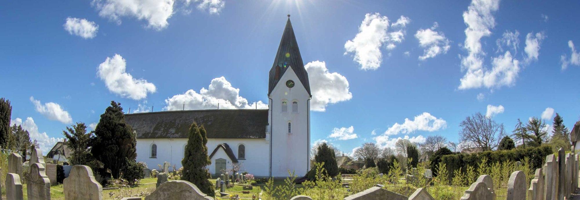 St. Clemens-Kirche Amrum, © Ralf Urbschat