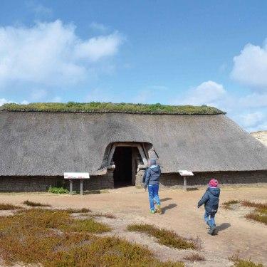 Eisenzeitliches Haus auf Amrum, © Kai Quedens