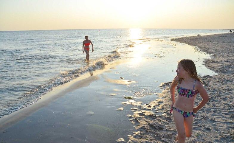 Kinder auf Amrum nach dem Nordseebad, © Kai Quedens