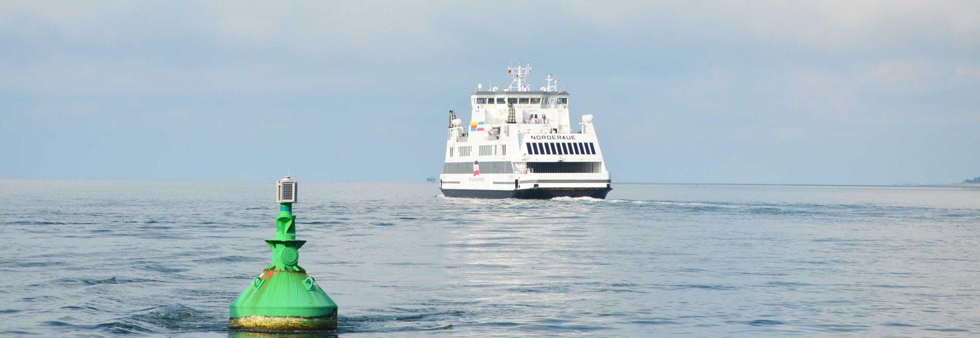 Fährschiff-Norderaue-Richtung-Amrum, © Kai Quedens
