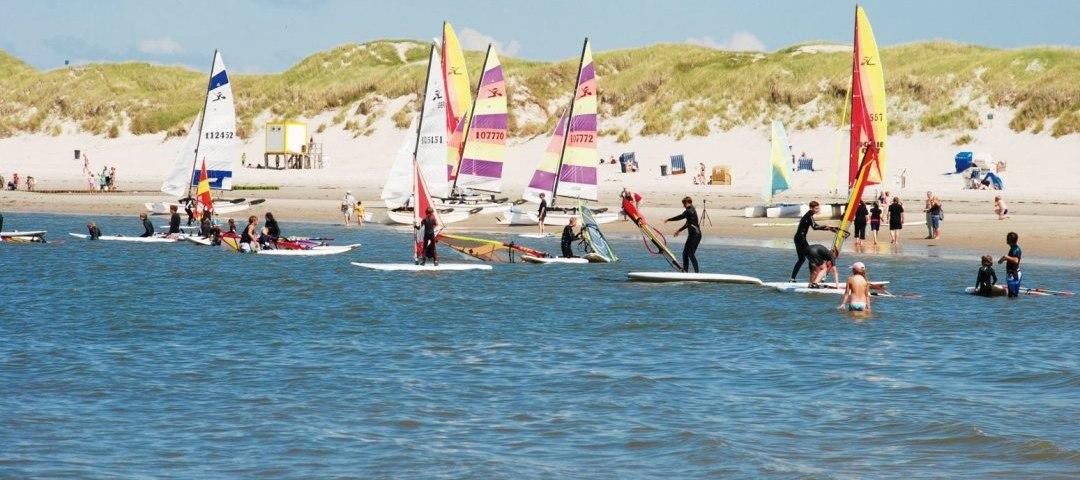 Wassersport Schule Amrum Surfkurs
