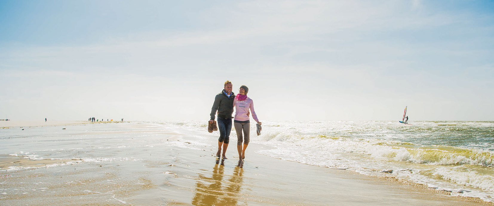 Paar am Strand auf Amrum, © Oliver Franke