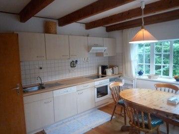 Wohn-Kochbereich im Erdgeschoss