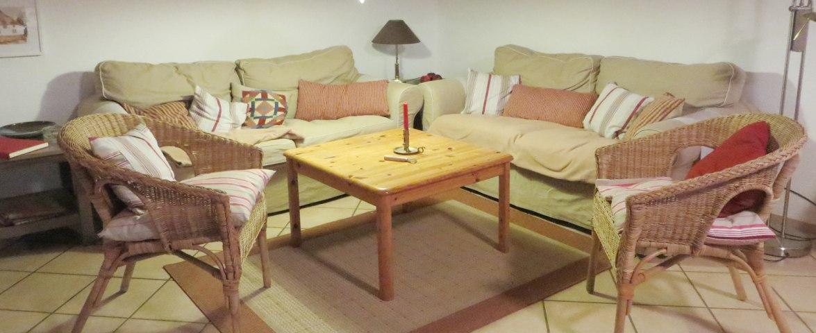 EG: Sitzgruppe im Wohnzimmer