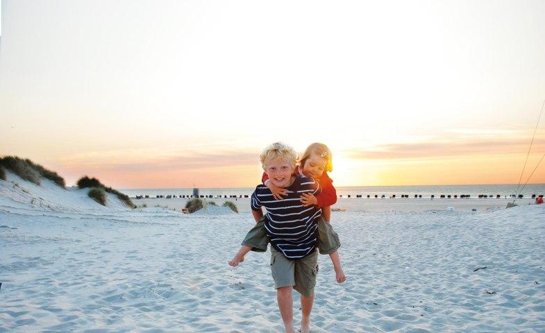 Kinder am Strand von Norddorf, © Kai Quedens