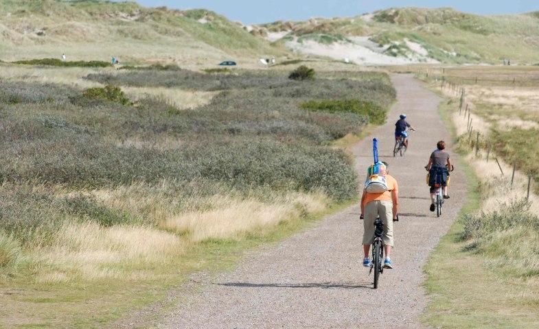 Radfahrer-Odde-Amrum, © KQuedens