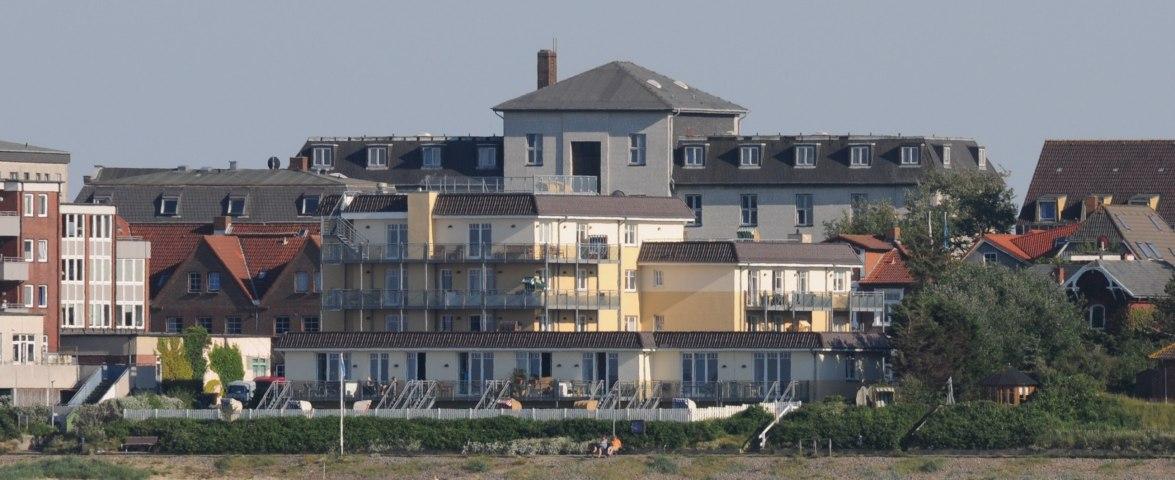 Penthouse Weitsicht in der Strandresidenz Wittdün