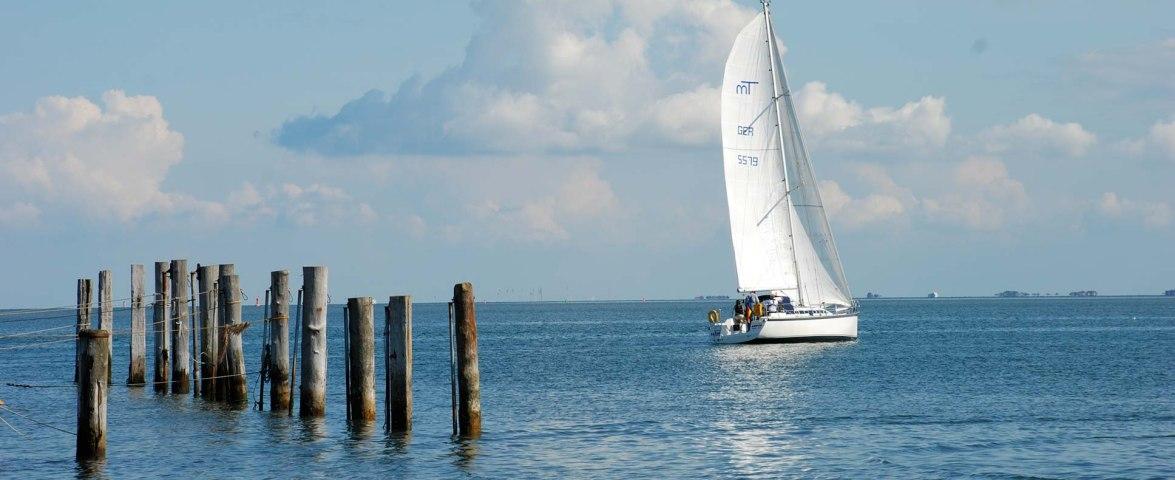Segelschiff bei Amrum